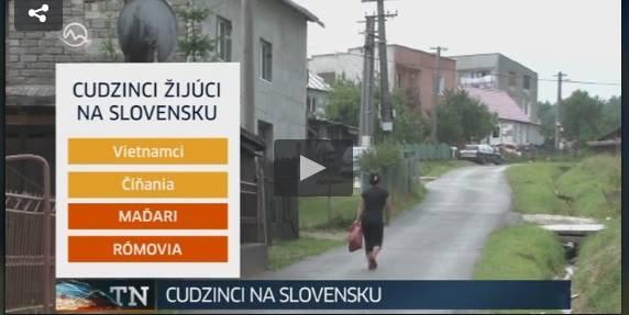 A Szlovákiában élő bevándorlók: vietnamiak, kínaiak, magyarok, romák